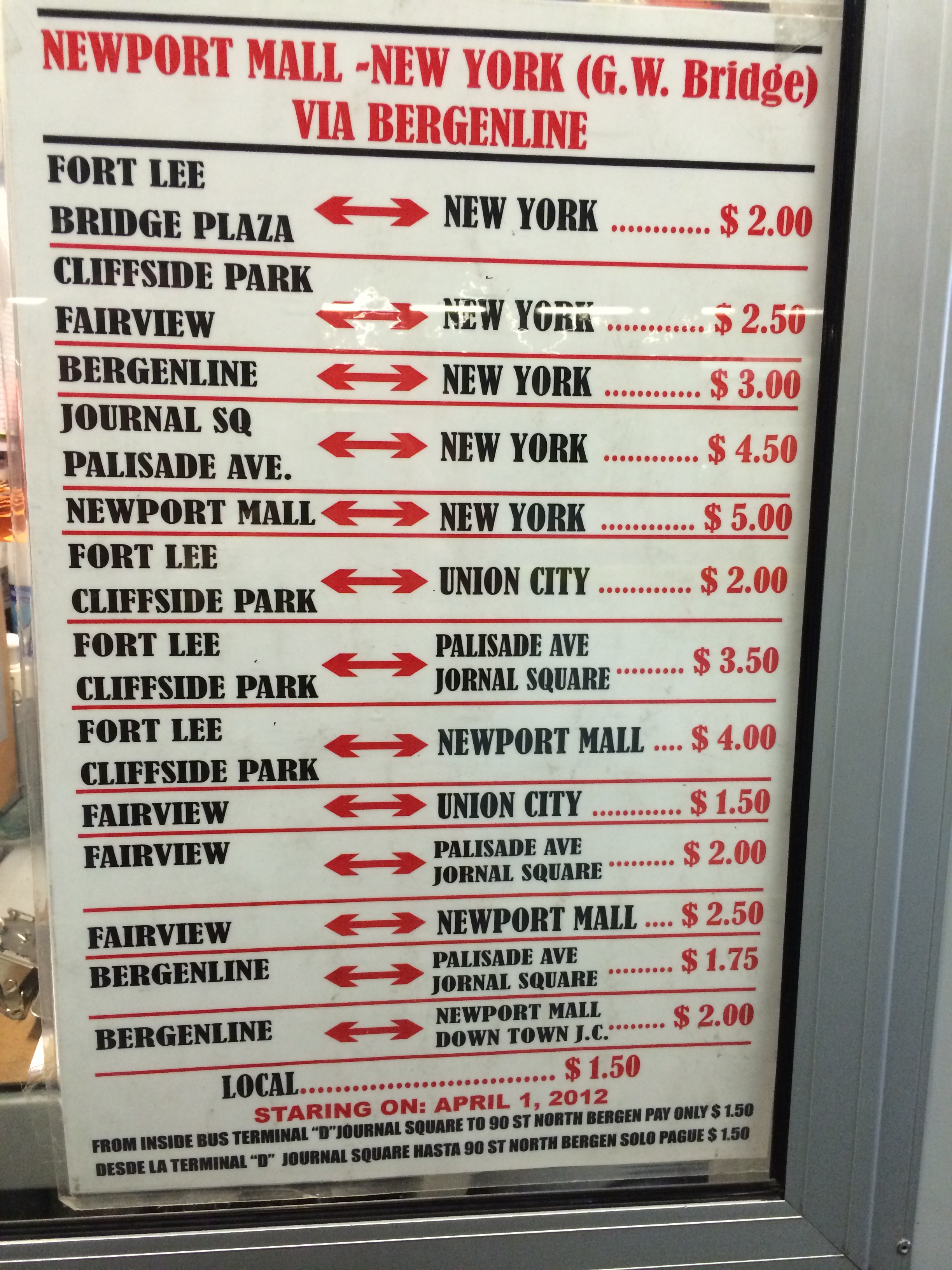 Bergenline Avenue | Jitney Buses of New Jersey